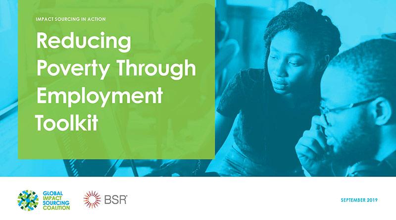 Reducing Poverty through Employment Toolkit
