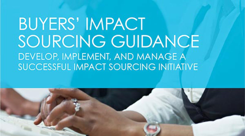 Buyers' Impact Sourcing Guide