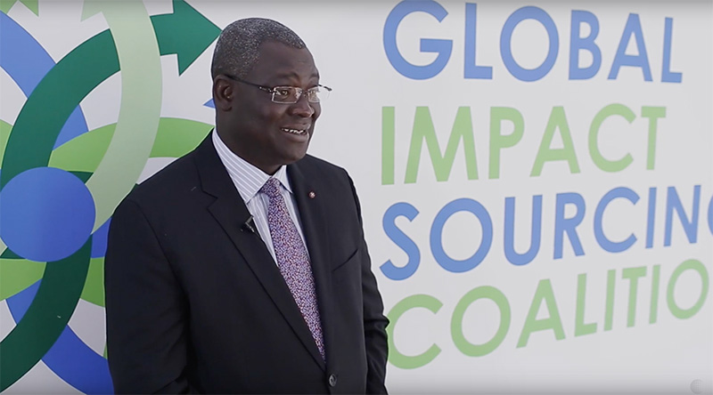 Global Impact Sourcing Coalition launch | Mamadou Biteye
