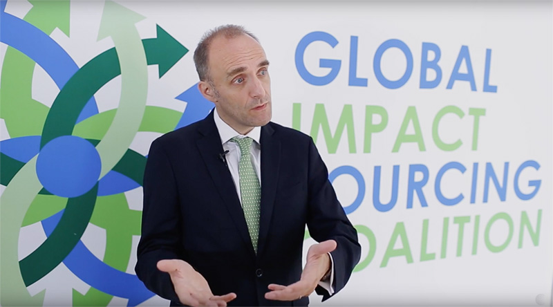 Global Impact Sourcing Coalition Launch | Peder Michael Pruzan-Jorgensen