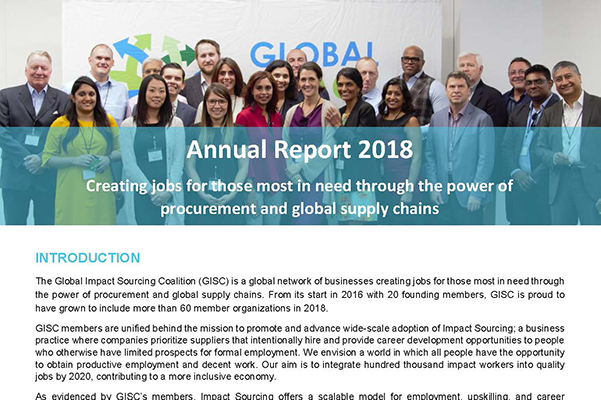 GISC Annual Review 2018