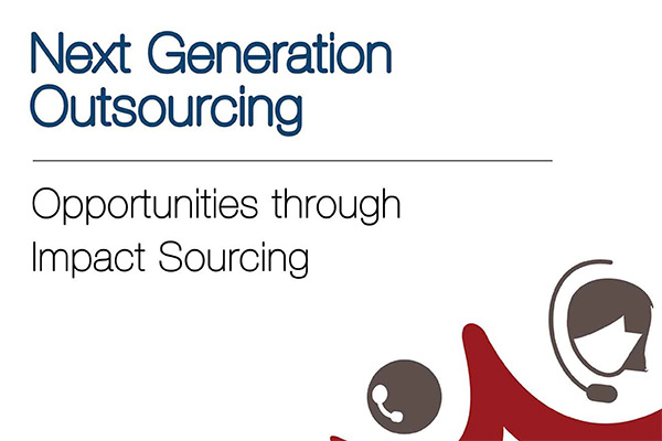 Next Generation Outsourcing: Opportunities through Impact Sourcing in India